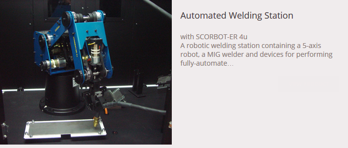 Automated Welding Station