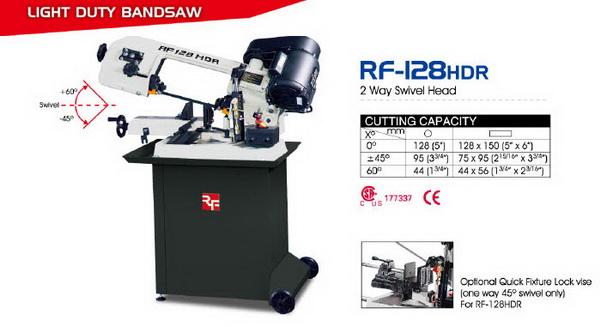 BandSaw RF-128HDR
