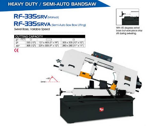 BandSaw RF-335SRV