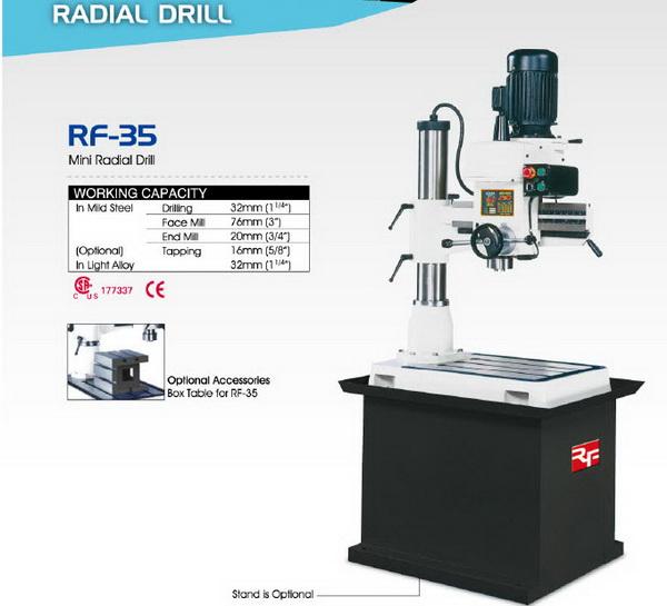 Radial Drill RF-35